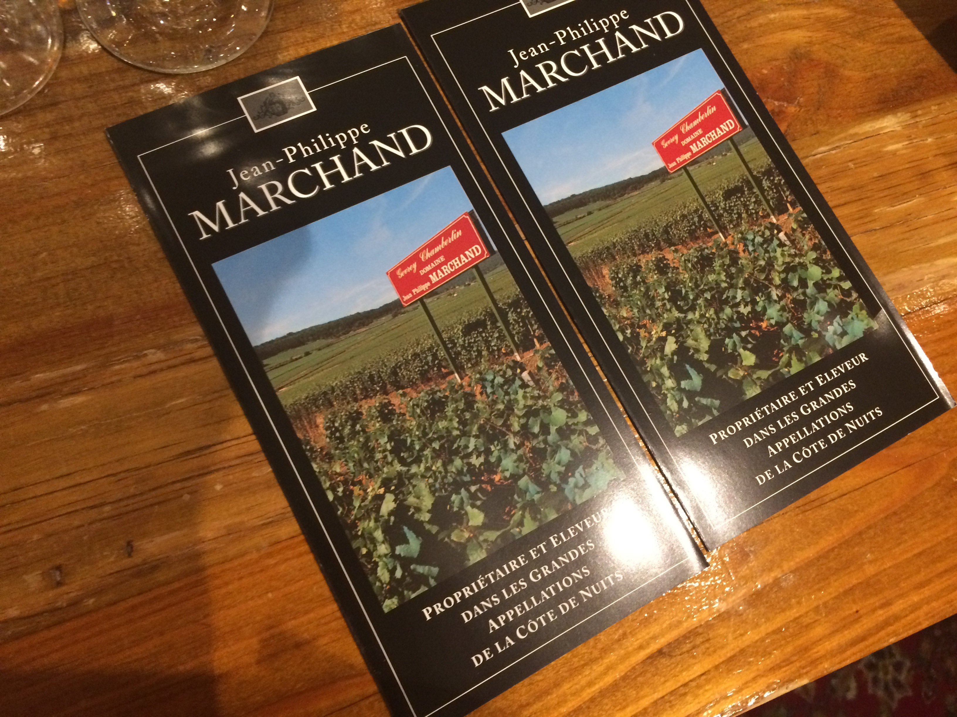 Marchand Vineyard brochure