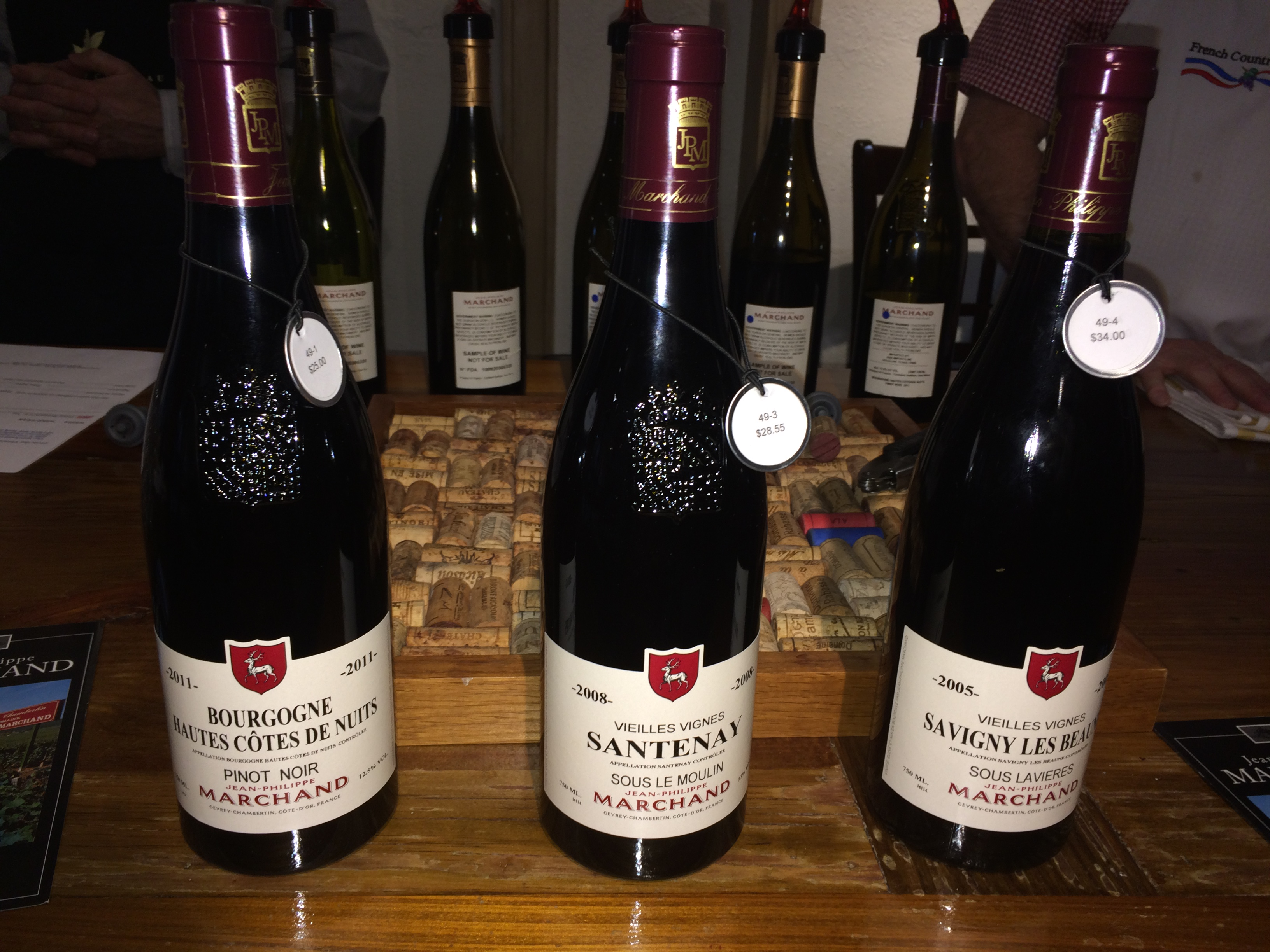 Red wines from Marchand